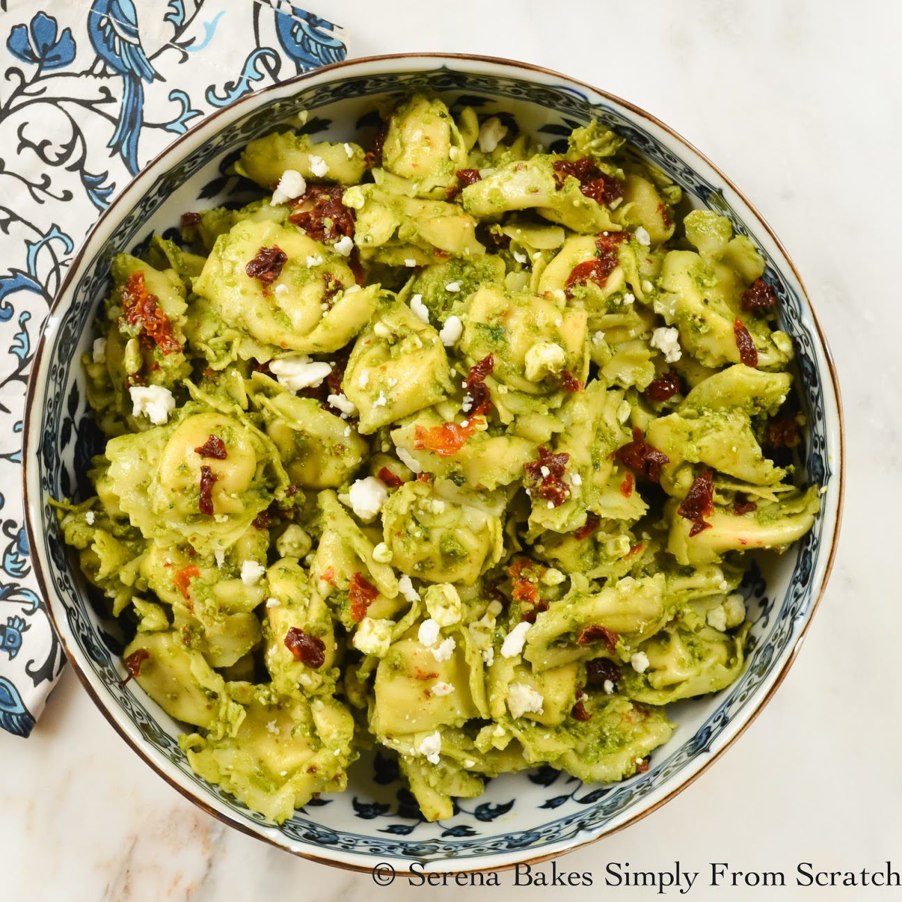 Tortellini Pesto Salad (6 of 1)