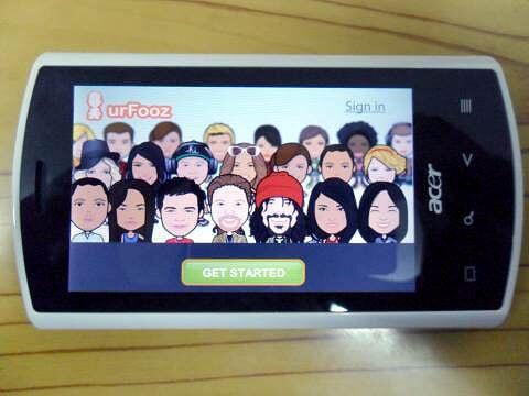 Acer Liquid - UrFooz