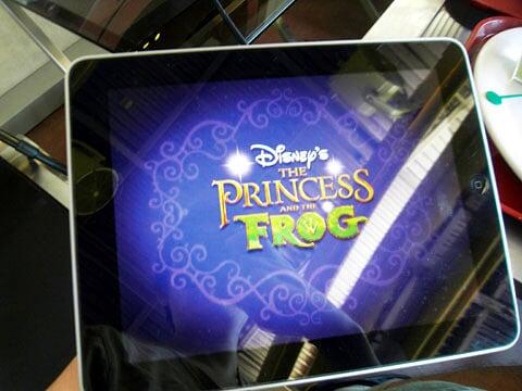香港迪士尼iPad電子故事書