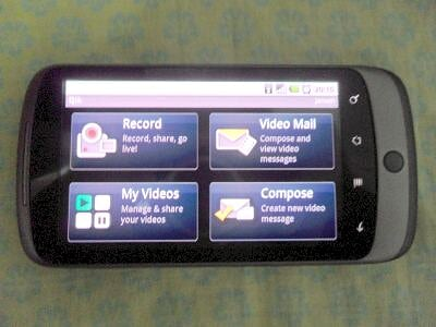 Qik on Nexus One