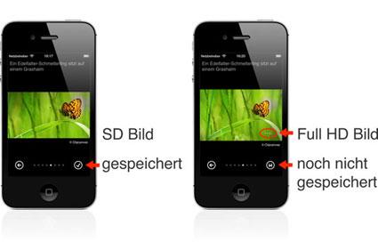 Schoenes Bing Bilder speichern © Markus Klos/apfelmark