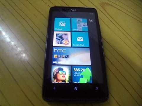 Windows Phone 7 Home Screen