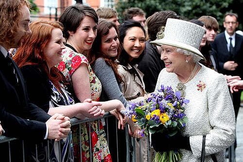 波士顿大图集 – 历史性访问:女王在爱尔兰
