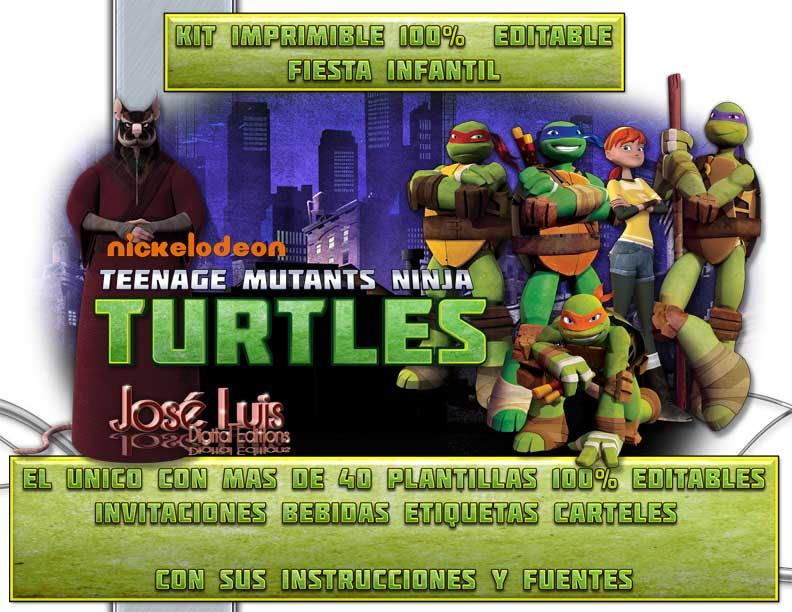 Ninja Turtles Birthday Invitation is amazing invitations design