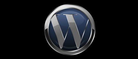 PhotoshopでWordpress風のメタリックロゴを作る方法