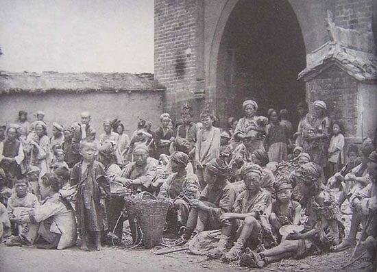 老照片:民国时期中国的旱灾引发的饥荒