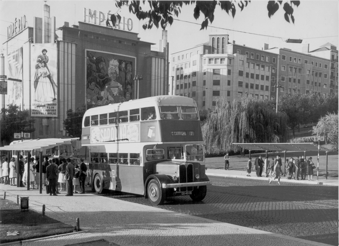 Autocarro 7, Alameda, 1960