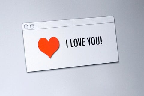 Say I love you... through email