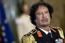 卡扎菲上校(资料图片)