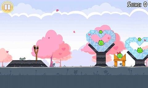 Angry Birds Seasons - Valentine's Day