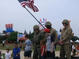 独立日照片:美国民众的欢乐节日