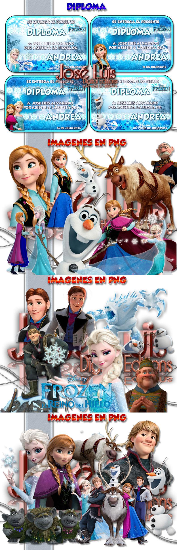 Kit Imprimible 100% Editable Frozen El Reino De Hielo Jose L