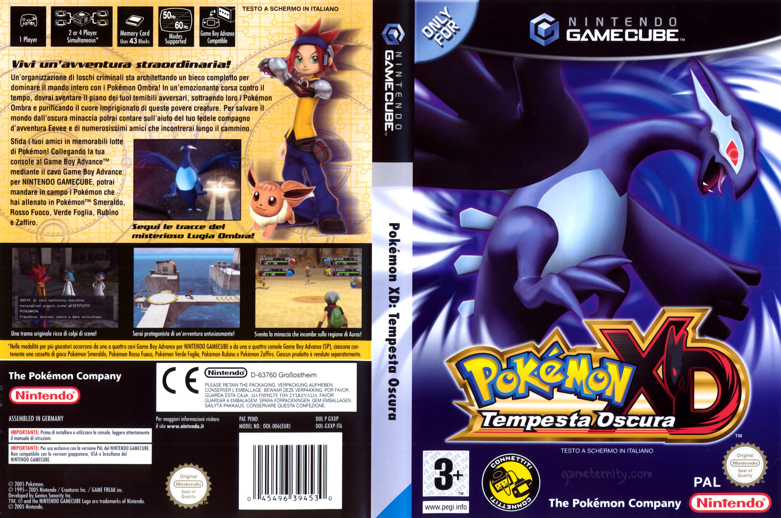 Pokemon XD Tempestad Oscura  (Espanol) (Juegos 2014)