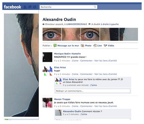 Creative Profile Pic for New Facebook Profile