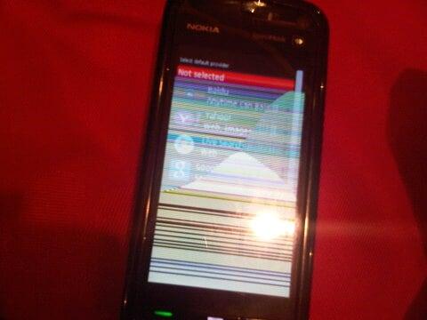 My Nokia 5800 has been broken