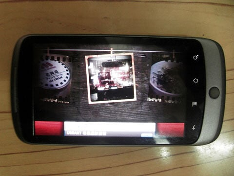 Android Retro Camera Interface