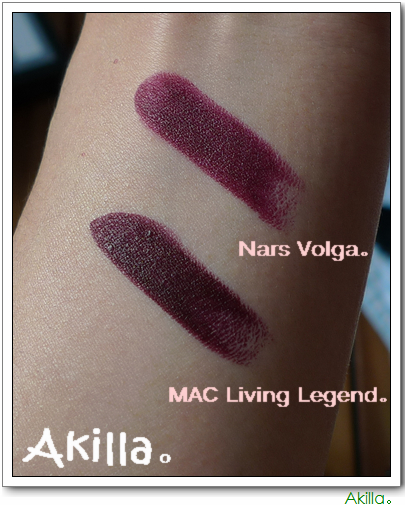 唇物语。抛物线。MAC。Living Legend。 - Akilla - Aki。在別處。