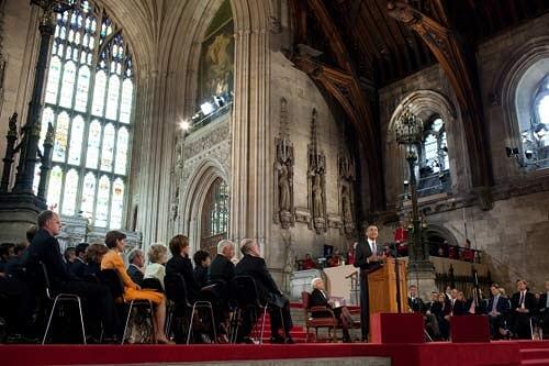 奥巴马总统在英国议会发表讲话(摘译)