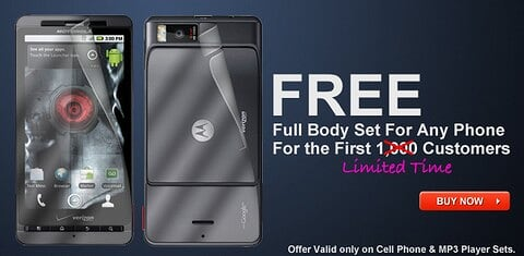 FREE Handset Body Protection