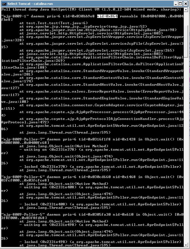 Thread ID 0x864