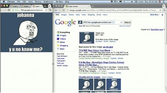 Google Search by Image:使用图片来搜索