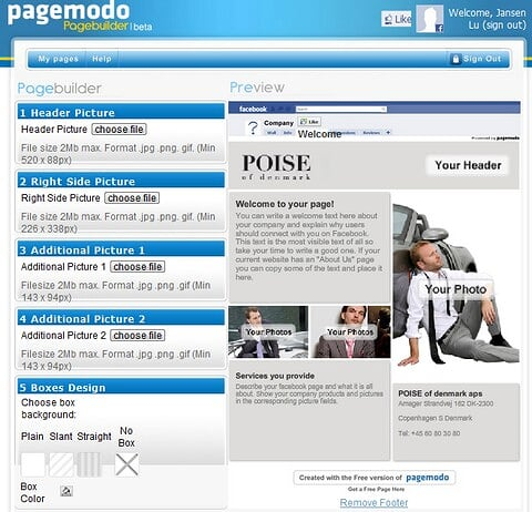 Pagemodo Page Builder